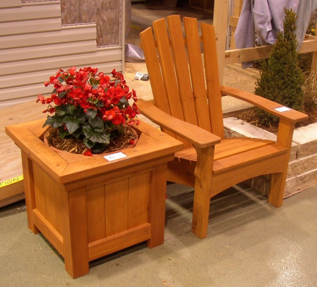 Planters Chairs: Adirondack Chair Planter Plans DIY How To Make
