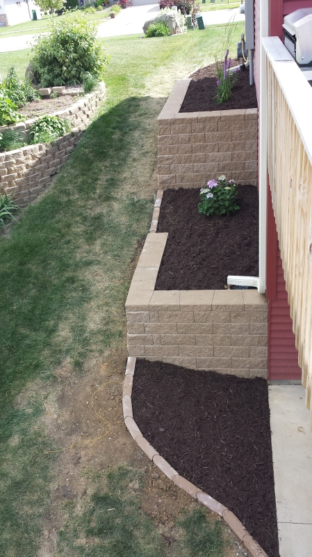 Landscaping. Rochester, MN