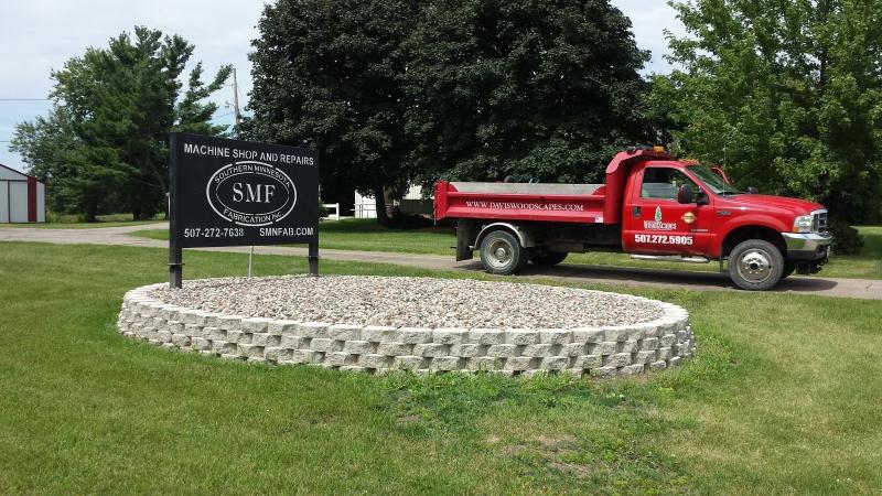 Landscaping. Stewartville, MN