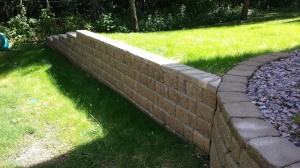 Retaining Wall - Stewartville, MN