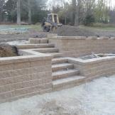Versa-Lok Standard Prairie Tan Retaining Walls/Stairs